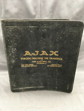 1920's Ajax Forging Machine Die Drawings Cleveland Ohio Socket Wrench {DD348}