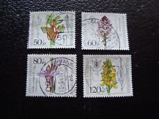 ALLEMAGNE (rfa) - timbre yvert et tellier n° 1058 a 1061 obl (A3)stamp germany