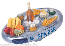 Inflatable Hot Tub Spa Bar Spas Flottant Boissons Et Nourriture Support Plateau vie plage