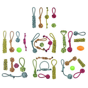5Pcs Cotton Pet Chew Rope Small Dog Knot Strong Teething Ball Accessories