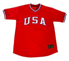 Mark McGwire Team USA National Jersey Size XL Oakland A's St Louis Cardinals