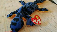 TY beanie baby she is Lizzy Lizard  RETIRED 1995 RARE