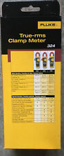 NEW!!!  Fluke 324 True-RMS AC Clamp Meter, 40A/400A AC, 600V AC/DC