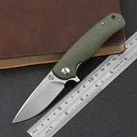 OEM Ontario Chaser Folding Knife G10 handle linerlock D2 blade good quality