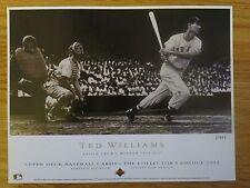 1992 TED WILLIAMS Triple Crown Winner 1942, 1947 LTD Upper Deck Sheet