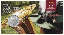 Österreich 10 Euro 2012 Kärnten im Folder