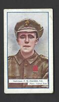 GALLAHER - THE GREAT WAR, VC HEROES, 8TH - #182 F W PALMER