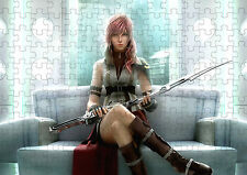 Final Fantasy XIII Lightning A4 Puzzle  - 120 Pieces