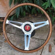 Volant Bois & Rivets 38cm Complet  Peugeot 504 304 204  & Autres Anciennes