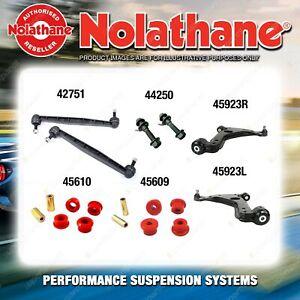 Front Nolathane Suspension Bush Kit for HOLDEN ASTRA AH MK5 INCL SRI 2004-2009