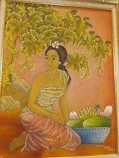 Original Painting by MD Wedha in Ubud Bali