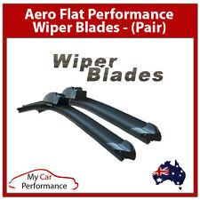 Ford Falcon FG FGX FPV F6 XR6 TURBO Aeroflat Wiper Blades Pair 22/20in FREE POST
