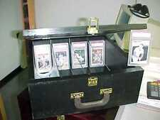 Baseball Card storage box Black for Regular and Graded Cards