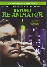 Beyond Re-Animtor: Rare Pre-Release DVD Screener
