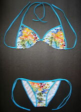 Nice BIKINI Multi Coloured Floral Pattern Swimming Costume Ladies Wear Swimsuit