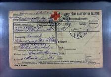 Camp 1916 Hungary to Russia POW Kriegsgefangenenpost Rotes Kreuz Red Cross 249