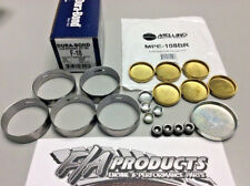 Ford 289 302 351W Dura-Bond F18 Cams Bearings + Melling MPE-108BR BRASS Plug Kit