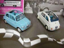 1/43 Brumm Fiat Nuova 500 Economica + Normale Aperta 57