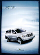 Prospekt brochure 2008 Chrysler Aspen   (USA)