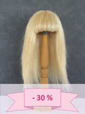 -30% PROMO - PERRUQUES pour POUPEES T4 (24cm) 100% Cheveux naturels - BRAVOT