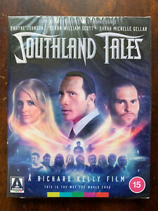 Southland Tales Blu-ray 2006 Cult Movie Arrow Video w/ Slipcover + Booklet