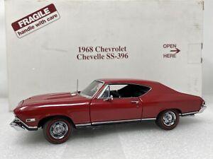 1/24 Danbury Mint 1968 Chevrolet Chevelle SS-396 Red