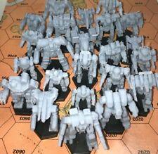 Battletech Miniatures - 3025/28 Inner Sphere Mechs MWO Style - Printed on Demand
