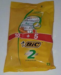 ( Buy 3 Get 1 Free ) Original Bic 2 Men Disposable Razor Double Blade Pack of 15
