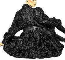 L XL Persianer Jacke Pelzjacke Pelz astrakhan persian lamb fur jacket black piel