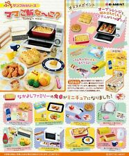 Japan Re-ment Miniature  Today's Meal set rement Full set of 8