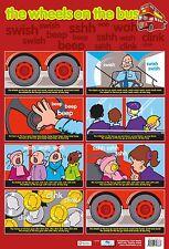 A2 Nursery Rhyme Poster/ Educational / Rhymes