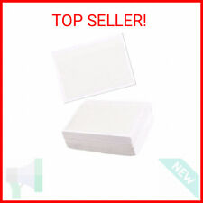 Juvale 100 Pack Label Holders For 3x5 Index Cards Self Adhesive Clear Pocke