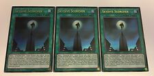 3 x YuGiOh - SKYDIVE SCORCHER - ULTRA RARE - DUSA-EN029 - 1ST EDITION NEW