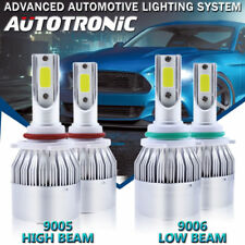 9005 9006 Combo LED Headlight Bulb For Jeep Grand Cherokee 99-07 High Low Beam