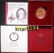 50 € Gold von 2006, Österreich,Amadeus Mozart