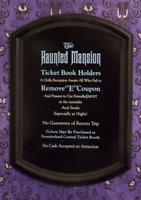 Disneyland Haunted Mansion Eticket Sign Framed 1969-82 Prop Replica 21x30 Disney