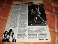 More details for vardis magazine interview article / photo 1981