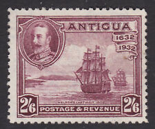Antigua. 1932. SG 89, 2/6 claret. Fine mounted mint.