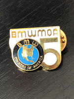 Vintage Collectible BMW Owners of Amer Metal Pin Back Lapel Pin Hat Pin
