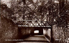 Lucan, Co. Dublin. The Tunnel # 66245 by Valentine's for M. Saunders, Lucan.