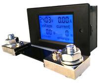 Dc Digital Panel Voltmeter Ampere Meter 65 100v 100a 4 In1 With 100a Shunt