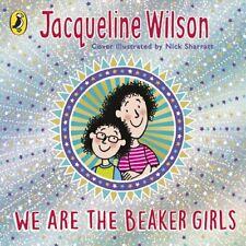 We Are The Beaker Girls Wilson Jacqueline Cornerstone Cd-audio