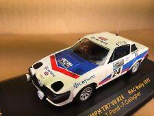 Triumph TR7 V8  #24    RAC  Rally  1977   -  IXO - schaal 1:43