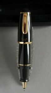 Towbow Black Zoom Rollerball with black ink refill and original tin.