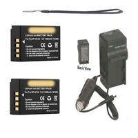 2X NP-W126S Batteries + Charger for Fuji FujiFilm XT-2, 16519247, 16519314,
