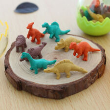 1 Set Creative Dinosaur Eraser Mini Cute Rubber Kawaii Students Stationery New