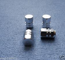 TOYOTA YARIS metallo argento polvere tappo valvola pneumatico ruota in alluminio copertura ESAGONALE