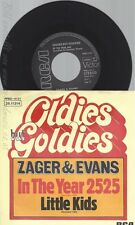 "7""ZAGER & EVANS--IN THE YEAR 2525"