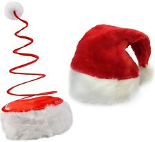 Christmas theme hats - Elf Hat - Coil Hat - Santa Hat - by Funny Party Hats