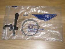 NEW Vintage Simplex Prestige Right Hand Gear Lever Shifter Eroica NOS